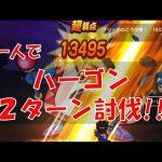 【ドラクエウォーク 】ハーゴン 2ターン討伐 ソロ